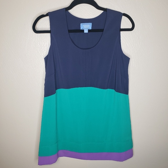 Simply Vera Vera Wang Tops - Vera Wang Color Block Blouse